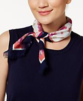 INC International Concepts Cotton Floral Bandana, Created for Macy's