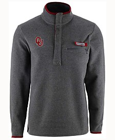 Columbia Men's Oklahoma Sooners Harborside Fleece Pullover