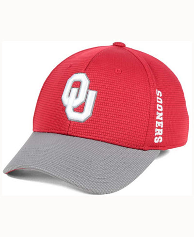 Top of the World Oklahoma Sooners Booster 2Tone Flex Cap