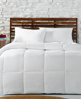 CLOSEOUT! Tommy Hilfiger Home Windowpane Down-Alternative Comforter Collection