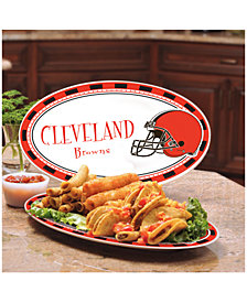 Memory Company Cleveland Browns Ceramic Platter