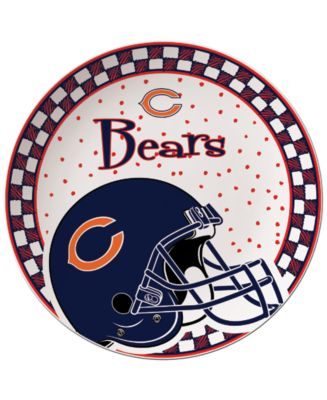 Chicago Bears Gameday Ceramic Plate
