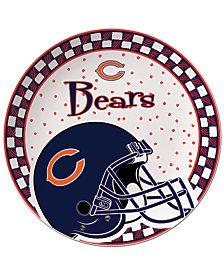Memory Company Chicago Bears Gameday Ceramic Plate