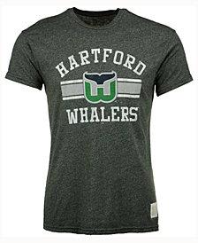 Retro Brand Men's Hartford Whalers Stripe Mock Twist T-Shirt