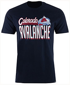 '47 Brand Men's Colorado Avalanche Script Splitter T-Shirt