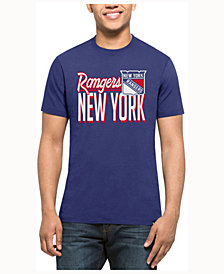 '47 Brand Men's New York Rangers Script Splitter T-Shirt
