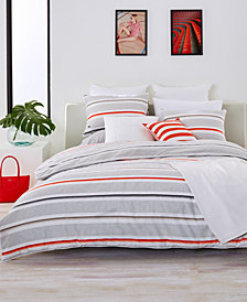 Lacoste Home Bastia Fiesta Cotton King Duvet Cover Set