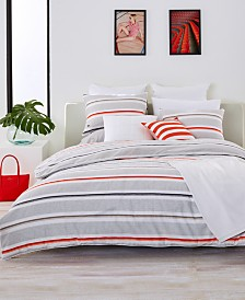 Lacoste Home Bastia Fiesta Cotton Twin/Twin XL Duvet Cover Set