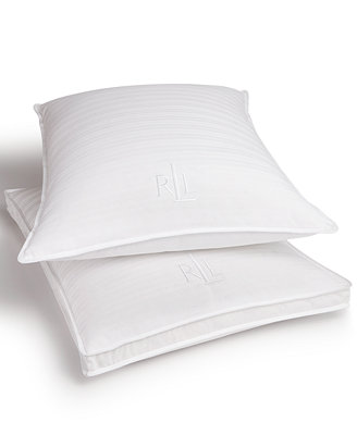 Trilogy Pillows, Down And Feather Triple Chamber by Lauren Ralph Lauren