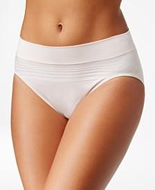 No Pinches No Problems Striped Hi Cut Brief Underwear RT5501P