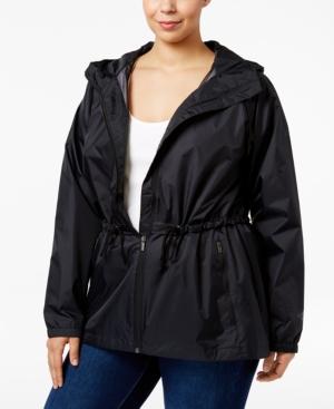 Columbia Plus Size Arcadia Hooded Waterproof Jacket