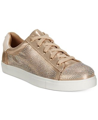 Material Girl Elanie Lace-Up Sneakers, Created for Macy's