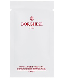 Free Ristorativo Eye Sheet Mask with $50 Borghese purchase