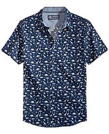 American Rag Men's Safari Print Shirt, Created for Macy's