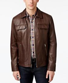 Men's Leather Jackets & Men's Leather Coats - Macy's
