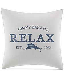 "Raw Coast 20"" Square Relax Decorative Pillow"