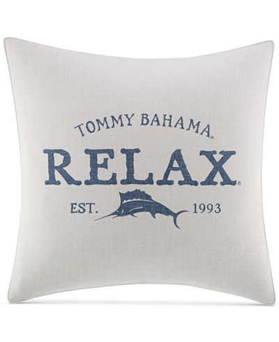 Tommy Bahama Home Raw Coast 40 Square Relax Decorative Pillow Mesmerizing Relax Decorative Pillow