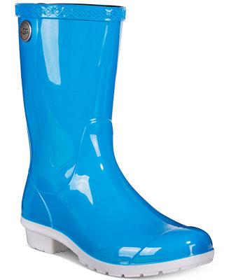 Ugg 174 Sienna Mid Calf Rain Boots Boots Shoes Macy S
