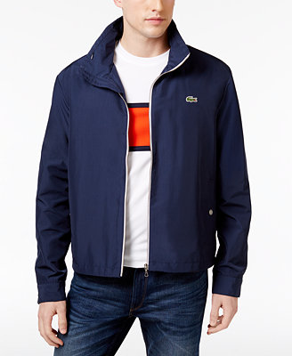 Lacoste Men S Crawford Lightweight Jacket Coats