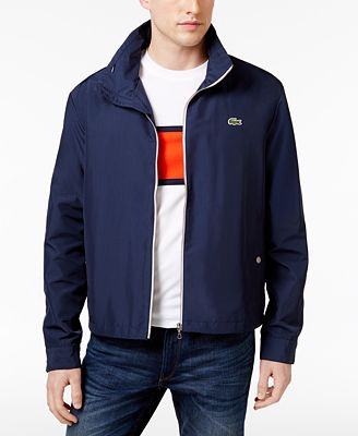 Lacoste Men's Crawford Lightweight Jacket - Coats & Jackets - Men ...
