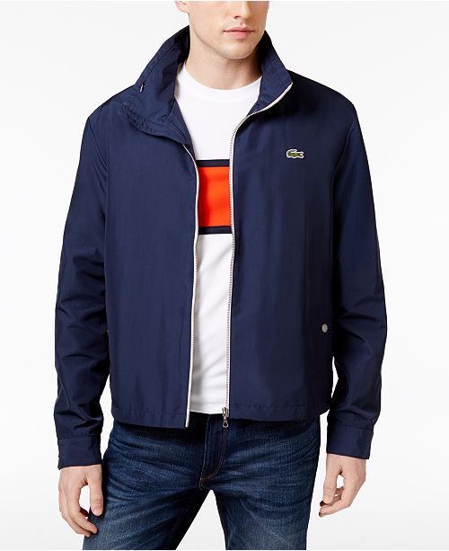 0e57af9c31 Lacoste Men's Crawford Lightweight Jacket & Reviews - Coats ...