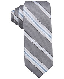 Men's Imperial Stripe Slim Tie, Created for Macy's