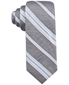 Ryan Seacrest Distinction™ Men's Imperial Stripe Slim Tie, Created for Macy's