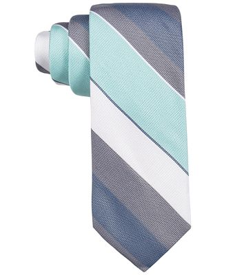 Ryan Seacrest Distinction™ Men's Sierra Stripe Slim Tie, Only at Macy's