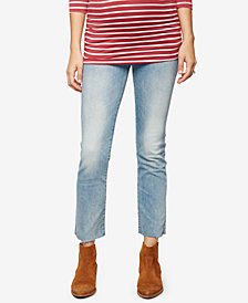 MOTHER Straight-Leg Ankle Jeans