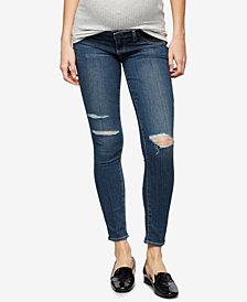 Paige Denim Maternity Distressed Jeans