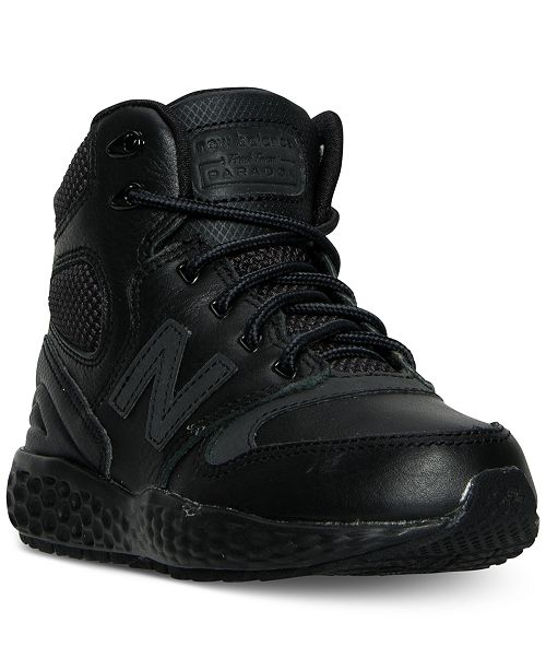 6f4c2b69aa8ab ... New Balance Boys  Fresh Foam Paradox Casual Sneaker Boots from Finish  ...