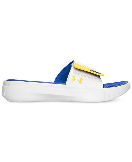 ae0ab7d53af9 ... Under Armour Big Boys  Curry 3 Slide Sandals from Finish Line ...