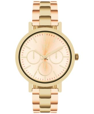 Image of INC International Concepts Women's Two-Tone Bracelet Watch 38mm, Only at Macy's