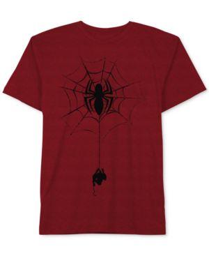 Marvel's Spider Man Graphic-Print T-Shirt, Big Boys 4382384