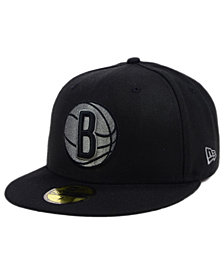 New Era Brooklyn Nets Black Graph 59FIFTY Cap