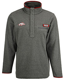 Columbia Men's Arkansas Razorbacks Harborside Fleece Pullover