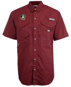 Columbia Men's Florida State Seminoles Bonehead Short Sleeve Shirt
