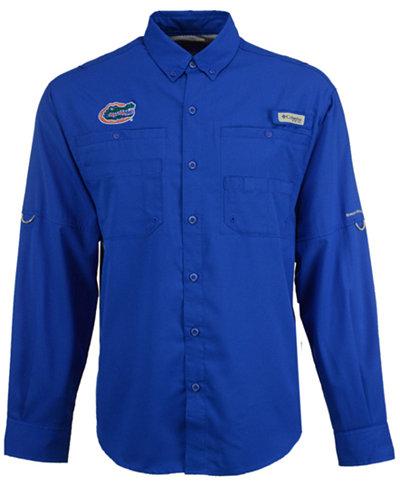 Columbia Men's Florida Gators Tamiami Long Sleeve Button Down Shirt