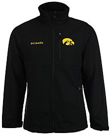 Columbia Men's Iowa Hawkeyes Ascender Softshell Jacket