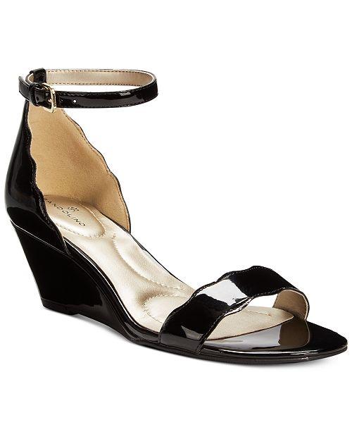 4ca25162a Bandolino Opali Scalloped Wedge Sandals  Bandolino Opali Scalloped Wedge  Sandals ...