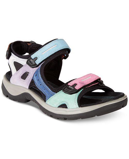 f65bbcf20ba1 Ecco Women s Offroad Sandals   Reviews - Sandals   Flip Flops ...