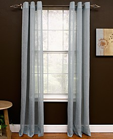 "Sheer Preston Grommet 48"" x 95"" Panel"