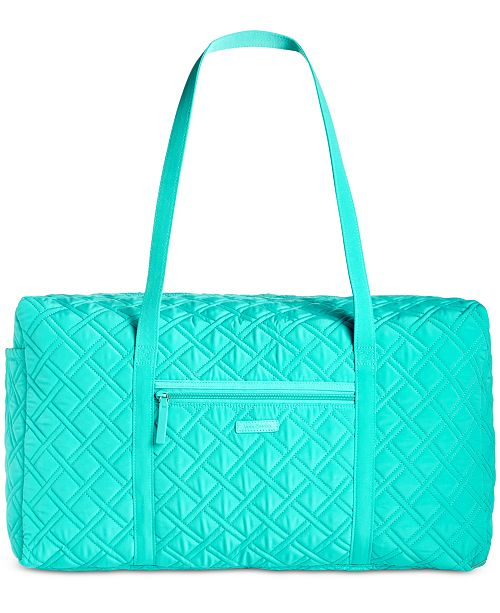 e3b7a81ea4c8 Vera Bradley Quilted Duffle - Handbags   Accessories - Macy s