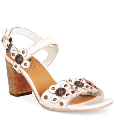 Patricia Nash Leona Block-Heel Sandals
