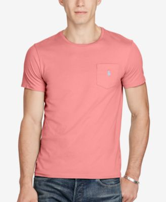 Image of Polo Ralph Lauren Men's Jersey Pocket T-Shirt