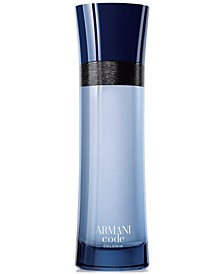 Armani Code Colonia Eau de Toilette Spray, 4.2 oz.