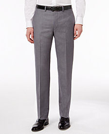 Calvin Klein Slim-Fit Solid Dress Pants