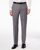 5f6e0dc9bf8 Calvin Klein Slim-Fit Solid Dress Pants