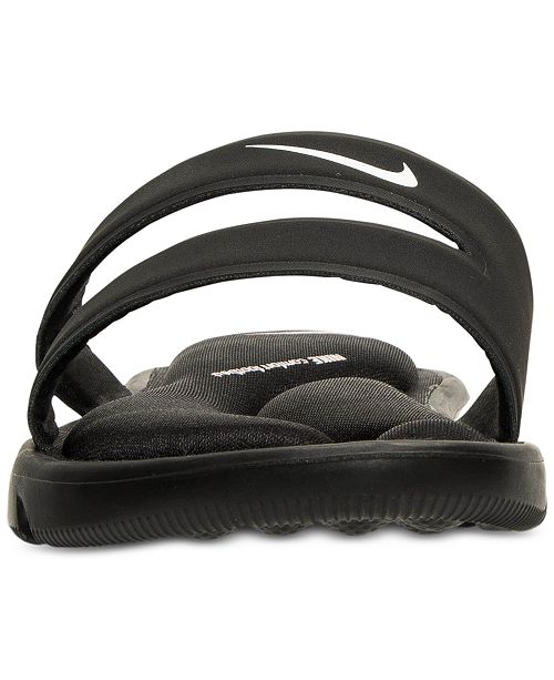 c68a280eb7af Nike Women s Ultra Comfort Slide Sandals from Finish Line   Reviews ...