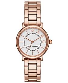 Marc Jacobs Women's Roxy Rose Gold-Tone Stainless Steel Bracelet Watch 28mm